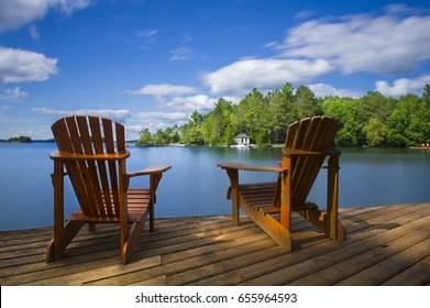 Adirondack Chair Images Stock Photos Vectors Shutterstock