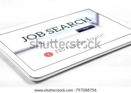 Unemployment Job Search Problem Cant Find Stock Photo (Edit Now