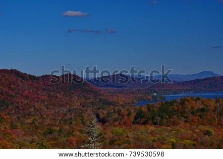 View Bald Mountain Old Forge NY Stock Photo (Edit Now) 739530598