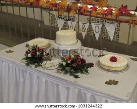 Wedding Reception Seating Arrangement Decorations Stock Photo (Edit