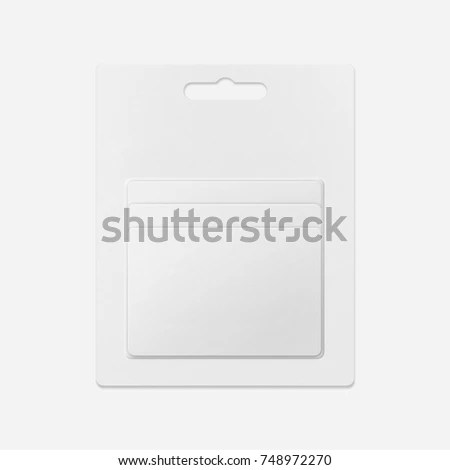 White Gift Card Shops Blank Gift Stock Photo (Edit Now) 748972270