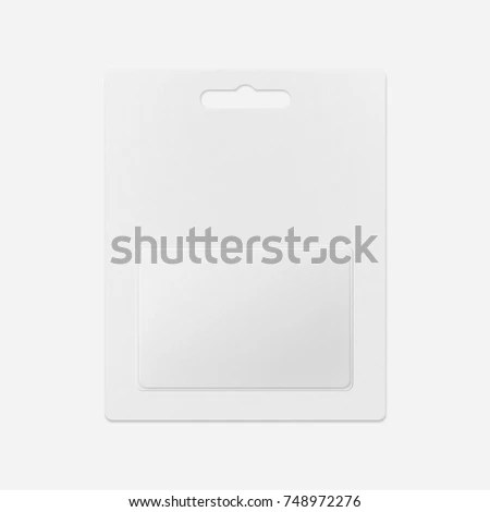 White Gift Card Shops Blank Gift Stock Photo (Edit Now) 748972276