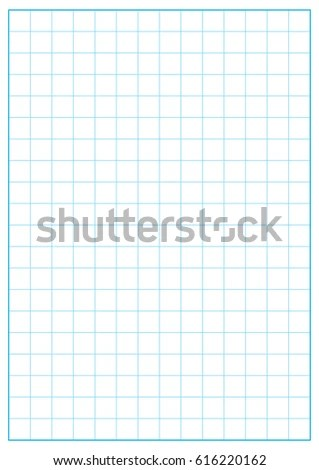 2 Inch Grid Printable Graph Paper Blue Stock Vector (Royalty Free