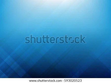 Abstract Blue Background Basic Geometry Overlaps Stock Vector