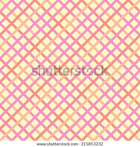 Abstract Seamless Patterns Squares Geometric Vector Stock Vector