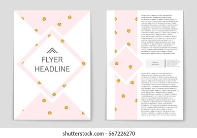 Gold Polka Dot Background Images Stock Photos Vectors