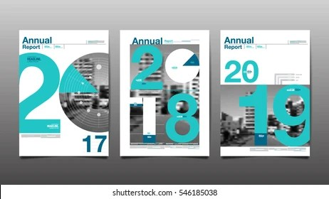 Annual Report Template Images, Stock Photos  Vectors Shutterstock