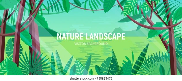 Rainforest Cartoon Images, Stock Photos  Vectors Shutterstock