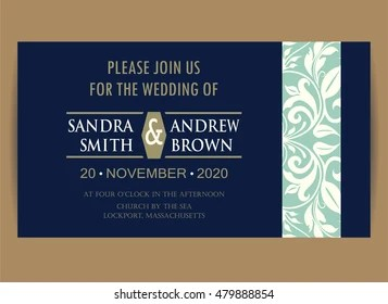 Engagement Invitation Images Stock Photos Vectors