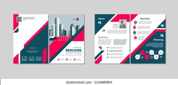 Bi Fold Brochure Images, Stock Photos  Vectors Shutterstock