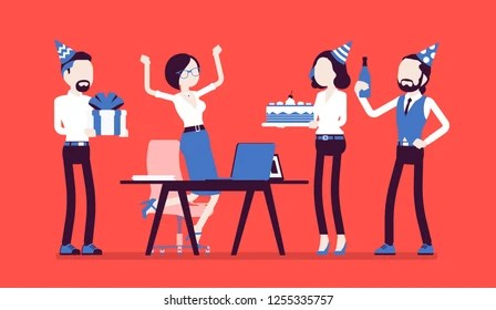 Office Birthday Party Images, Stock Photos  Vectors Shutterstock