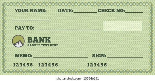 fake check Images, Stock Photos  Vectors Shutterstock