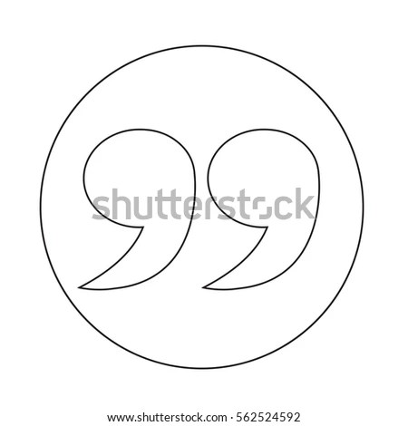 Blockquote Icon Stock Vector (Royalty Free) 562524592 - Shutterstock