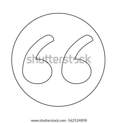 Blockquote Icon Stock Vector (Royalty Free) 562524898 - Shutterstock