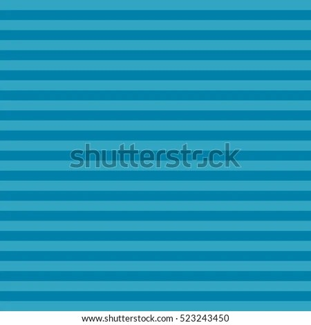 Blue Striped Background Horizontal Stripes Straight Stock Vector