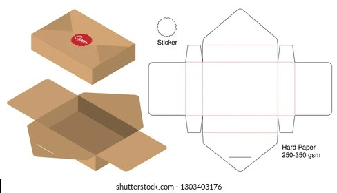 Tall Box Template Images, Stock Photos  Vectors Shutterstock