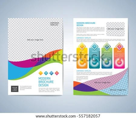 Business Brochure Flyer Design Layout Template Stock Vector (Royalty
