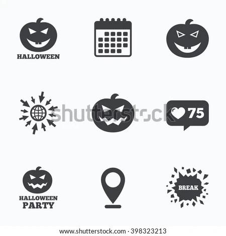 Calendar Like Counter Go Web Icons Stock Vector (Royalty Free