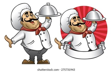 cartoon chef Images, Stock Photos  Vectors Shutterstock