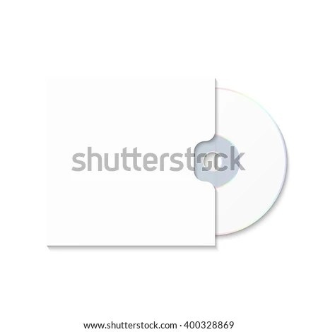 CD Cover Template DWD Box CD Stock Vector (Royalty Free) 400328869