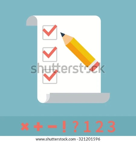 Checklist Do List List Checkboxes Notes Stock Vector (Royalty Free