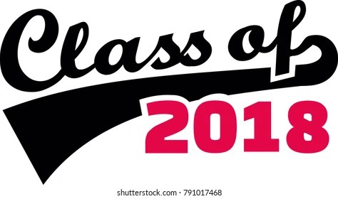 Class Of 2018 Images, Stock Photos  Vectors Shutterstock