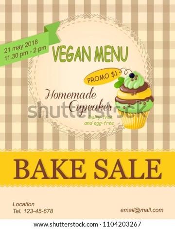 cupcake sale flyer - Nevadlugopisyreklamowe