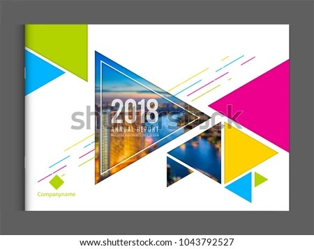 Corporate Business Cover Design Template Brochure Stock Vector