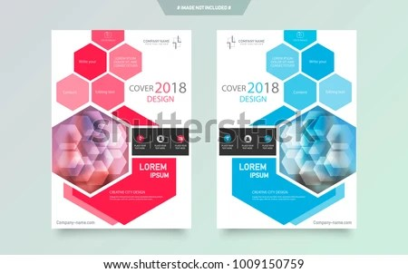 Cover Design Template Annual Report Abstract Stock Vector (Royalty