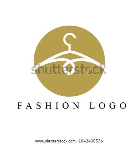 Creative Fashion Logo Design Clothing Logo Stock Vector (Royalty
