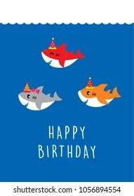 Cute Whale Wallpaper Baby Shark Images Stock Photos Amp Vectors Shutterstock