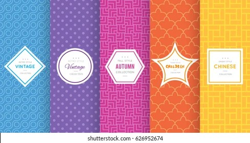 Cute Bright Seamless Pattern Background Vector Stock Vector (Royalty