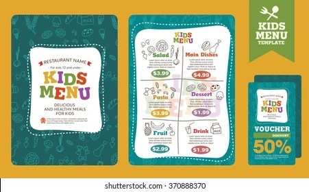 Kids Menu Images, Stock Photos  Vectors Shutterstock