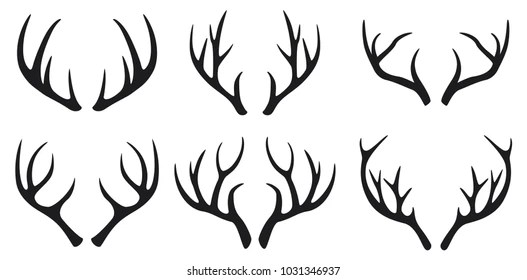 deer antlers Images, Stock Photos  Vectors Shutterstock