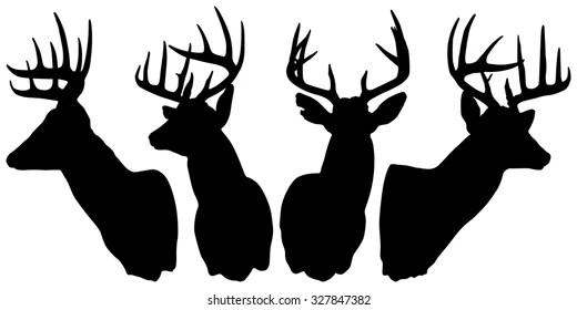deer silhouette Images, Stock Photos  Vectors Shutterstock