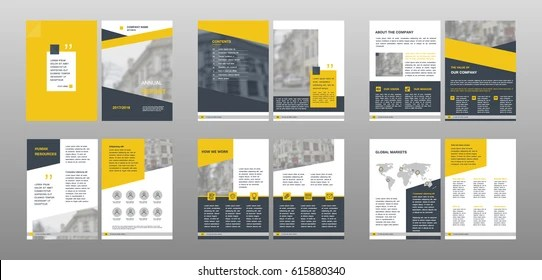 Annual Report Template Images, Stock Photos  Vectors Shutterstock - annual report template