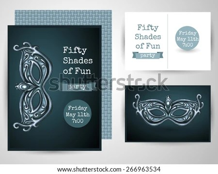 Design Template Card Adult Party Perfect Stock Vector (Royalty Free