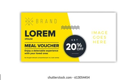 Coupon Template Images, Stock Photos  Vectors Shutterstock