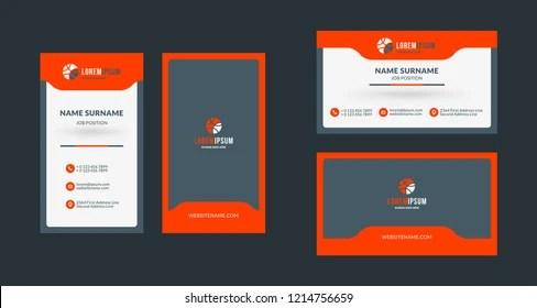 portrait business card Stock Vectors, Images  Vector Art Shutterstock
