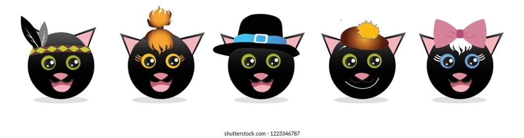 black cat emoji Stock Vectors, Images  Vector Art Shutterstock