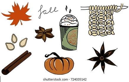 pumpkin leaves Images, Stock Photos  Vectors Shutterstock