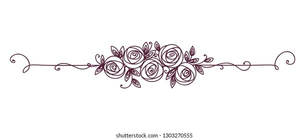 scroll border Images, Stock Photos  Vectors Shutterstock