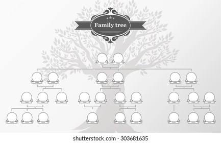 Family Tree Images, Stock Photos  Vectors Shutterstock