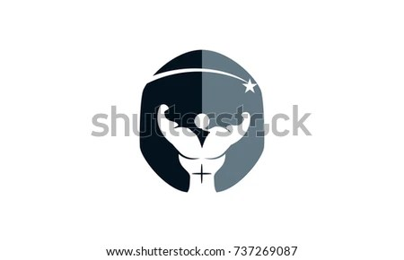 Gladiator Fitness Solutions Stock Vector (Royalty Free) 737269087