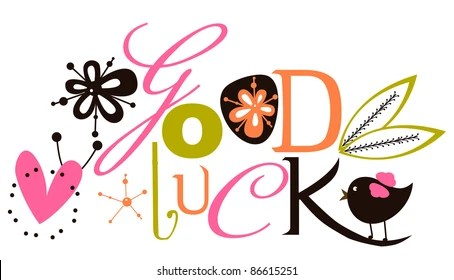 Farewell Card Images, Stock Photos  Vectors Shutterstock - good luck cards to print