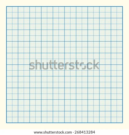Graph Grid Paper Background Excellent Vector Stock Vector (Royalty