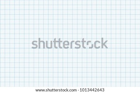 Graph Paper Background Blue Color Stock Vector (Royalty Free