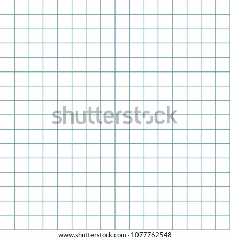 Graph Paper Grid Paper Seamless Pattern Stock Vector (Royalty Free