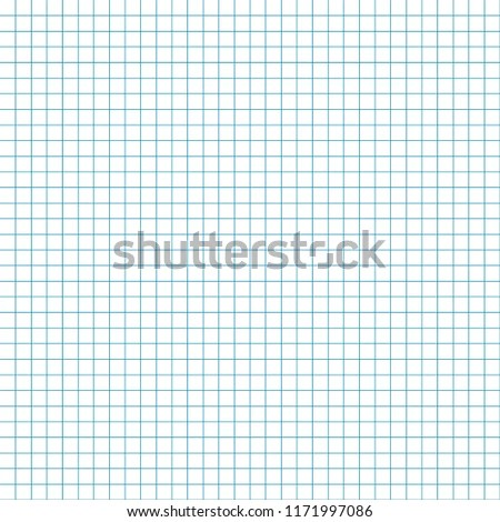 Graph Paper Seamless Pattern Blank Grid Stock Vector (Royalty Free
