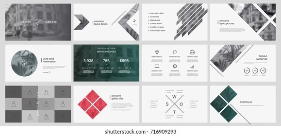 minimalist design powerpoint presentation Images, Stock Photos